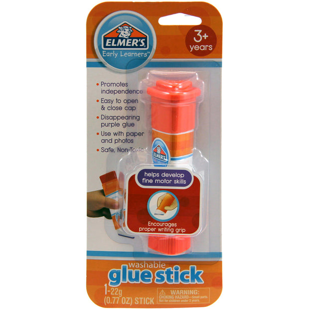 Elmer's Early Learners Washable Glue Stick-Disappearing Purple .77oz