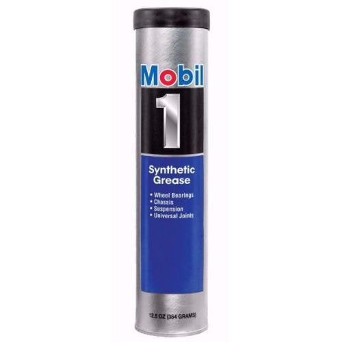 Mobil 1 121070-1 Grease Synthetic 13.4Oztube, 13.4 fl. oz, 1 Pack