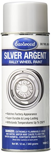 Eastwood 10001Z Paint (Rally Wheel Argent Silver 12oz Aerosol),
