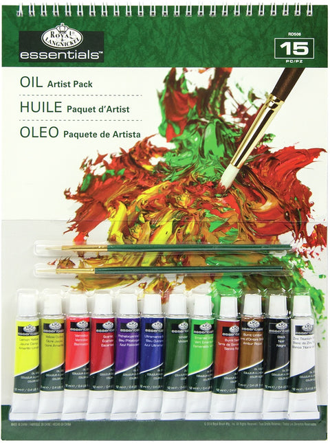 essentials(TM) Artist Pack-Oil Color