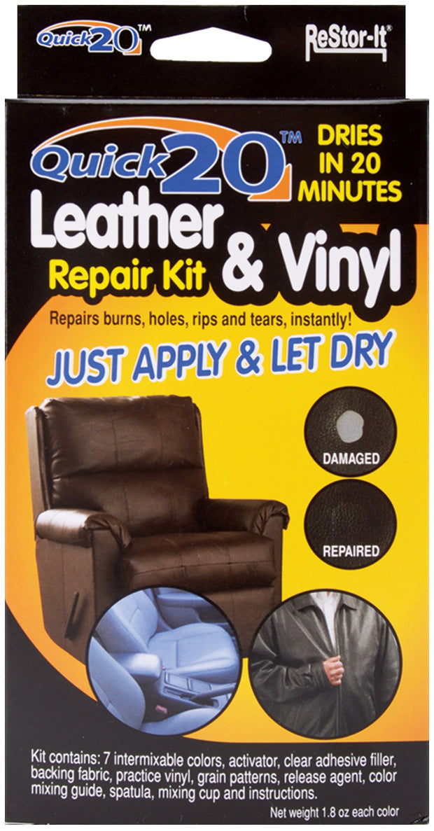 Restor-It Quick 20 Leather & Vinyl Repair Kit-