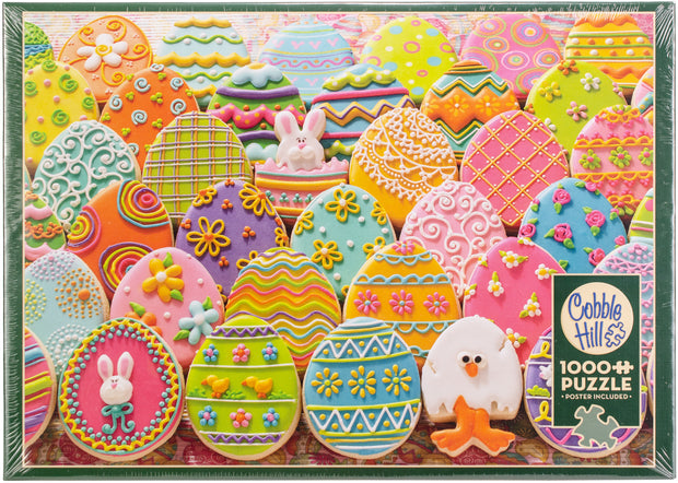 "Jigsaw Puzzle 1000 Pieces 26.625""X19.25""-Easter Eggs"