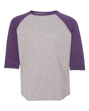 LAT. Vintage Heather/ Vintage Purple. XS. 6130. 00052987054637