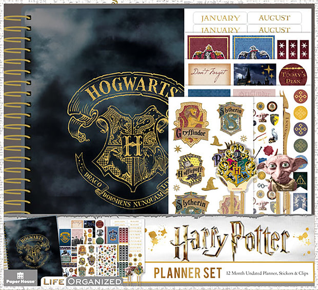 Paper House Harry Potter 12-Month Planner Set-