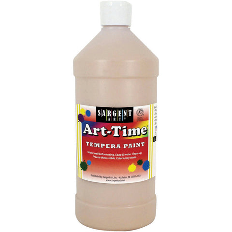 Art-Time(R) Tempera Paint 32oz-Peach