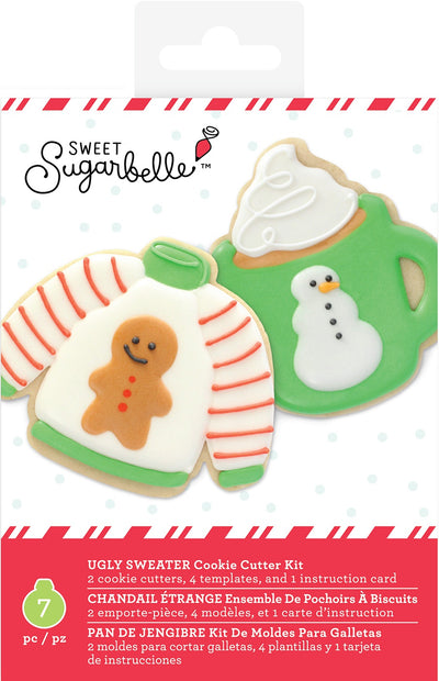 Sweet Sugarbelle Cookie Cutter Set 10/Pkg-Ugly Sweater