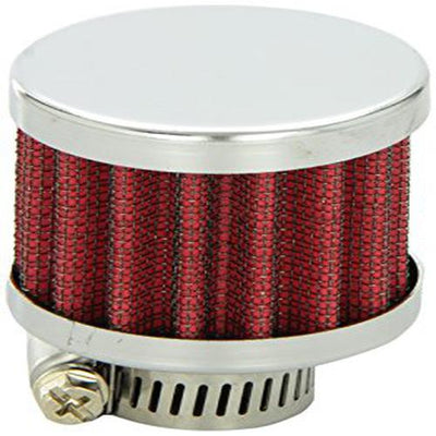 Vibrant Performance 2164 Crankcase Breather Filter w/ Chrome Cap - 3/4in, 1 Pack