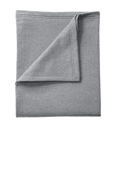 Port & Company® Core Fleece Sweatshirt Blanket. BP78 Athletic Heather OSFA