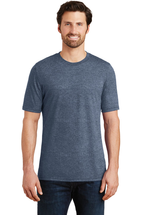 District Made® Mens Perfect Tri® Crew Tee. DM130 Navy Frost 2XL