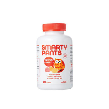Smarty Pants Gomitas Multivitamina + Omega 3 + Vitamina D