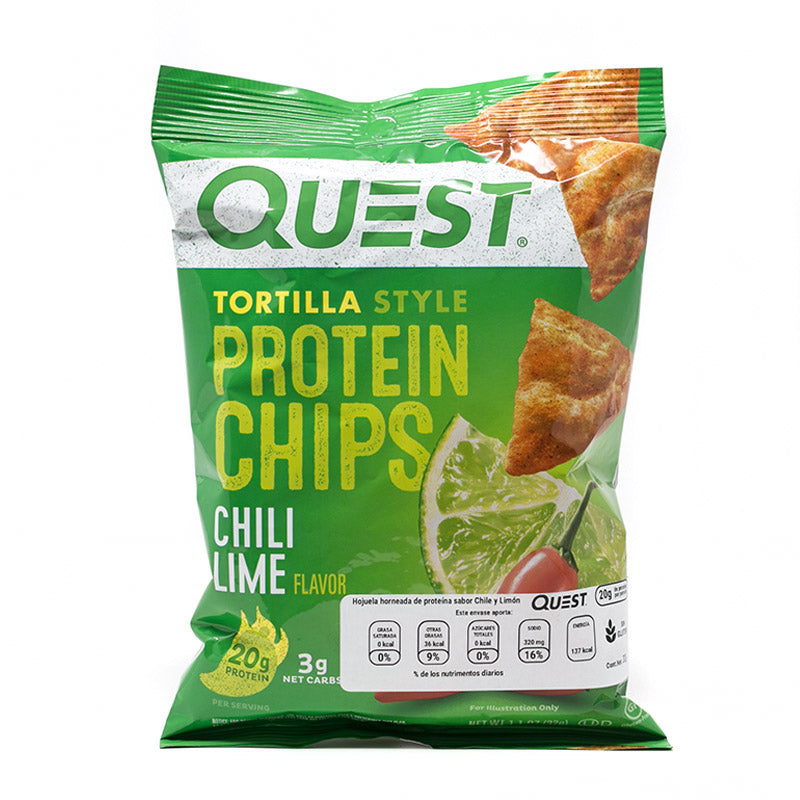 QUEST PROTEIN CHIPS LIMÓN