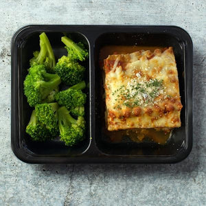 Three cheese Turkey Vegetable Lasagna
