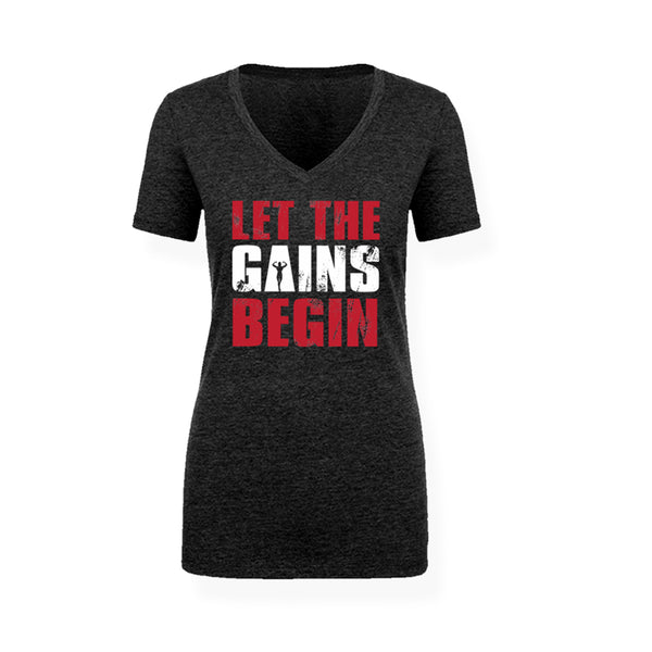 Let The Gains Begin Shirt