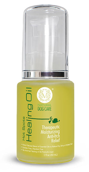Hot Spots Healing Oil: Theraputic Moisturizing Anti-Itch Relief