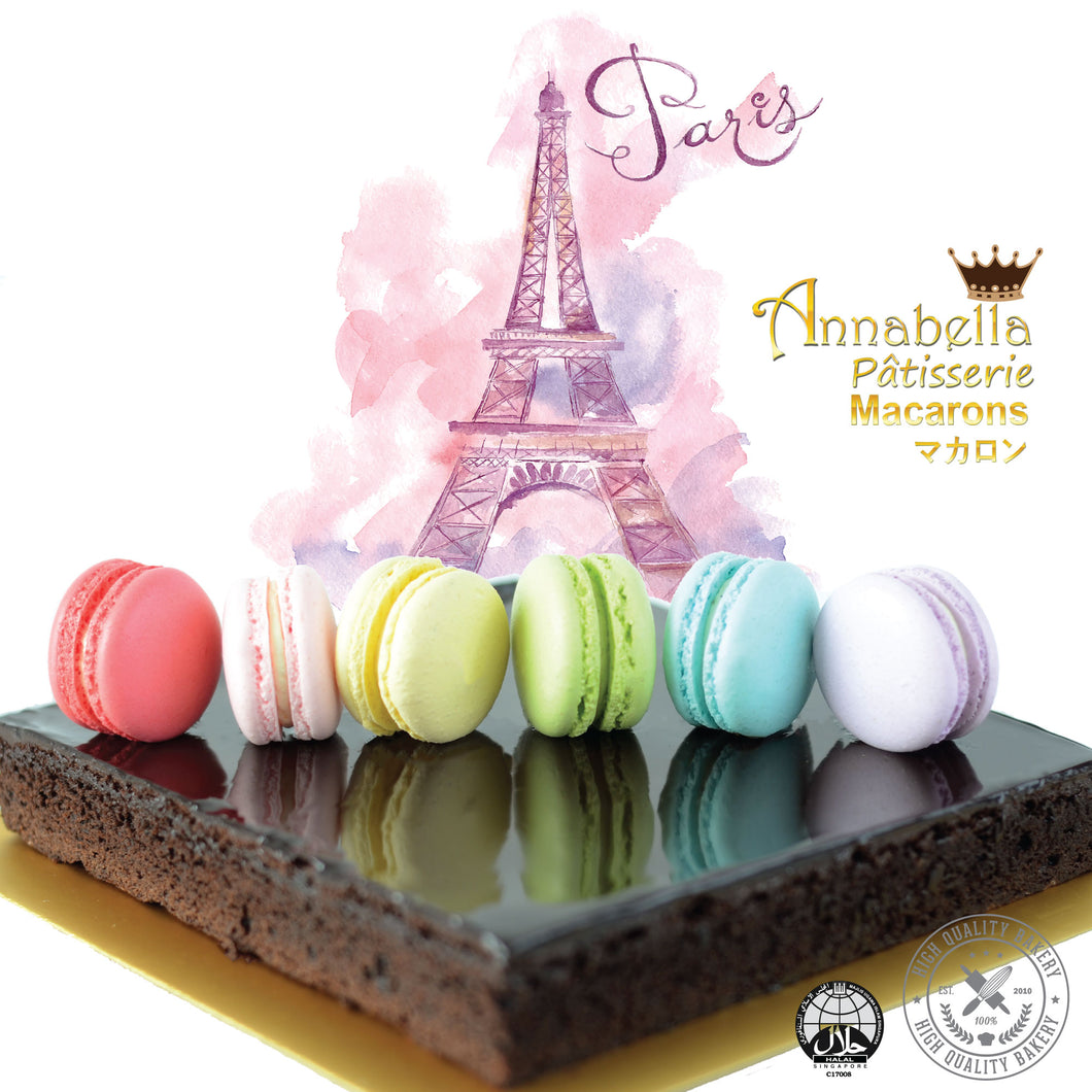 SALES! Big Brownies (18cm x 18cm) + Free 6pcs Assorted Macarons | Free Birthday Tag + Knife + 1xCandle |  Limited Qty 1st 100 |  CODE: BLACKFRIDAY | $29.90 Only