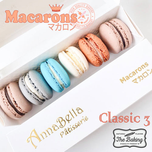 11.11. Salse! 6PCS Macarons in Gift Box (Classic 3) | Use Code: 1111SALES | Special Price S$9.90