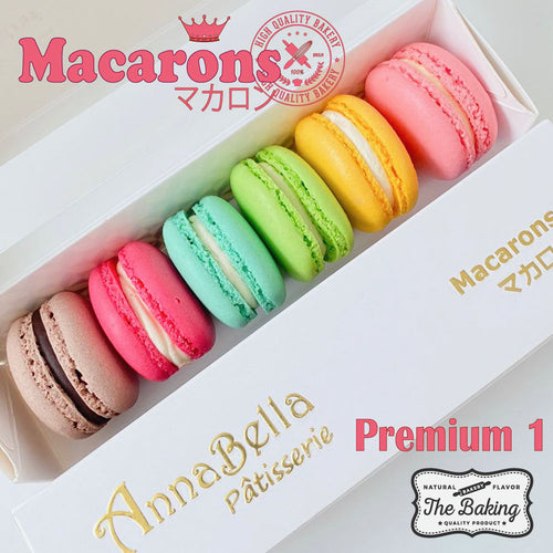 Sales! | 6PCS Macarons in Gift Box (Premium 1) | Use Code: YEAR2021 | Special  Price S$11.10 Only!