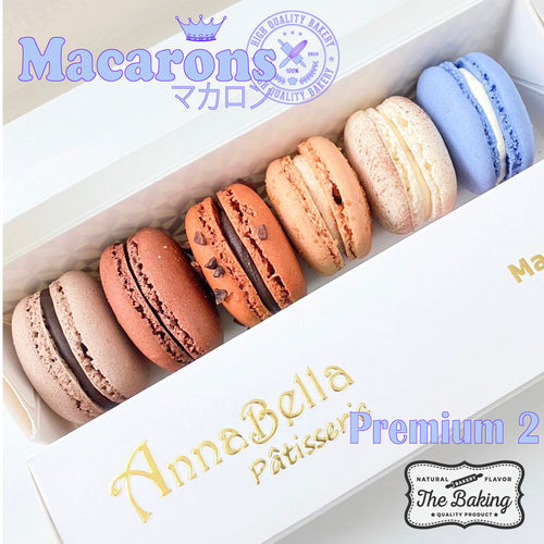6PCS Macarons in Gift Box (Premium 2) | Use Code: STAYHOME50 | Special Price S$11.90