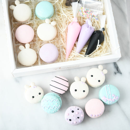 DIY Bunny Macarons Set | 50% OFF first 100 use code STAYHAPPY50 | $19.90 nett only