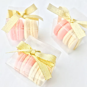2pcs Macarons (Classic Flavour) | Wedding Favor or Door Gift | Elegant Gift for Special Event