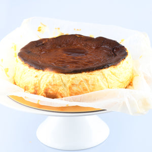 Sugar Free | Keto Friendly | Low Carb | Gluten free | Original Burnt Cheese Cake 18 cm | $59.90 nett