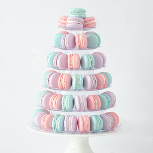 6 Tier Tower (80pcs Classic or Premium or Marvelous Macaron) | Includes Free Tower | Simple Self-Assemble | Free Delivery | $228 Nett Only