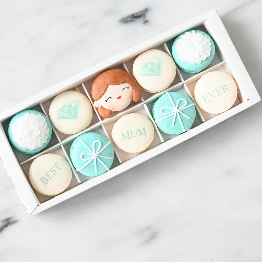 Happy Mothers Day |  Best Mum Ever Macarons | Early Bird $38.80 nett only