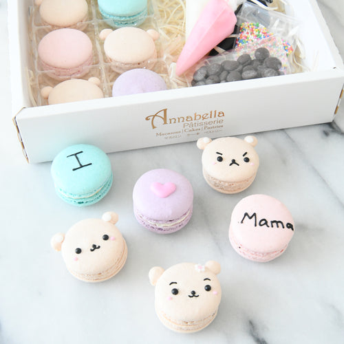 Happy Mothers Day | DIY Bear Macarons Set | 50% OFF first 100 use code: ILOVEMAMA | $19.90 nett only