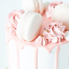 Sales! Lychee Rose Cake Petite   | Including 3 pcs Macarons | $29.90 nett only