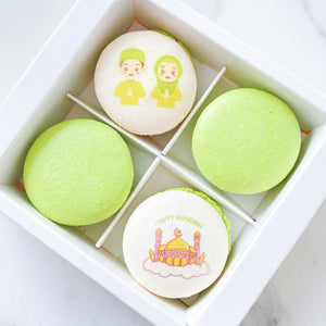 Happy Ramadan! *Special Price* | 4pcs Happy Ramadan Macarons | $12.80 nett only