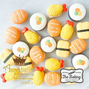 4pcs Sushi Macarons in Gift Box  | Use Code: STAYHAPPY50 | Special Roadshow Price S$11.80