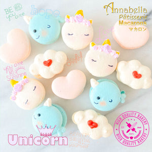 4pcs Unicorn Macaron Gift Box |  50% Off |  1st 100 Orders | Use Code: STAYHAPPY50 | $11.90