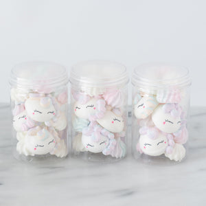 Unicorn Meringue | S$8.00 Only with 50% Off |  1x Container of Meringue with 3pcs Unicorn | Use Code: STAYHOME50