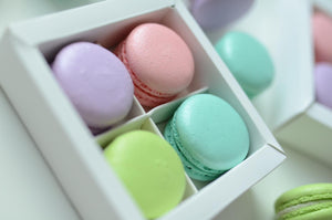 4pcs Macarons Door Gift | Choose 4 Classic Flavors