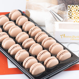 Sales! Chocolate Macarons DIY Baking Kit (yields 38 pcs macarons) | FREE $20 Gift Voucher | Limited to first 100 | $58 nett only