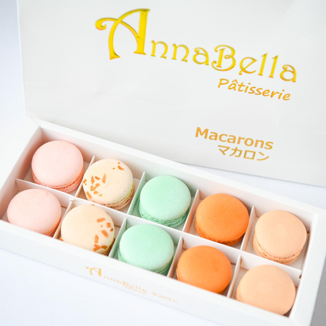 10pcs Classic Macarons (Classic4) in Gift Box and Paper Bag