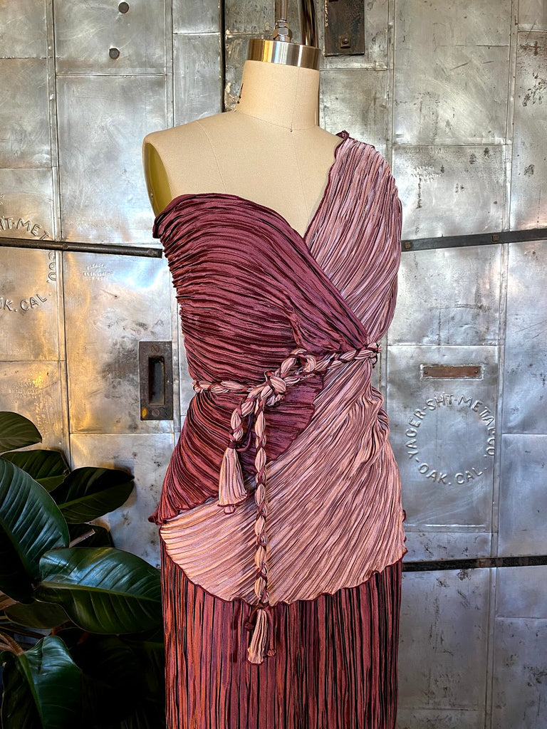 jean marc pleated dress