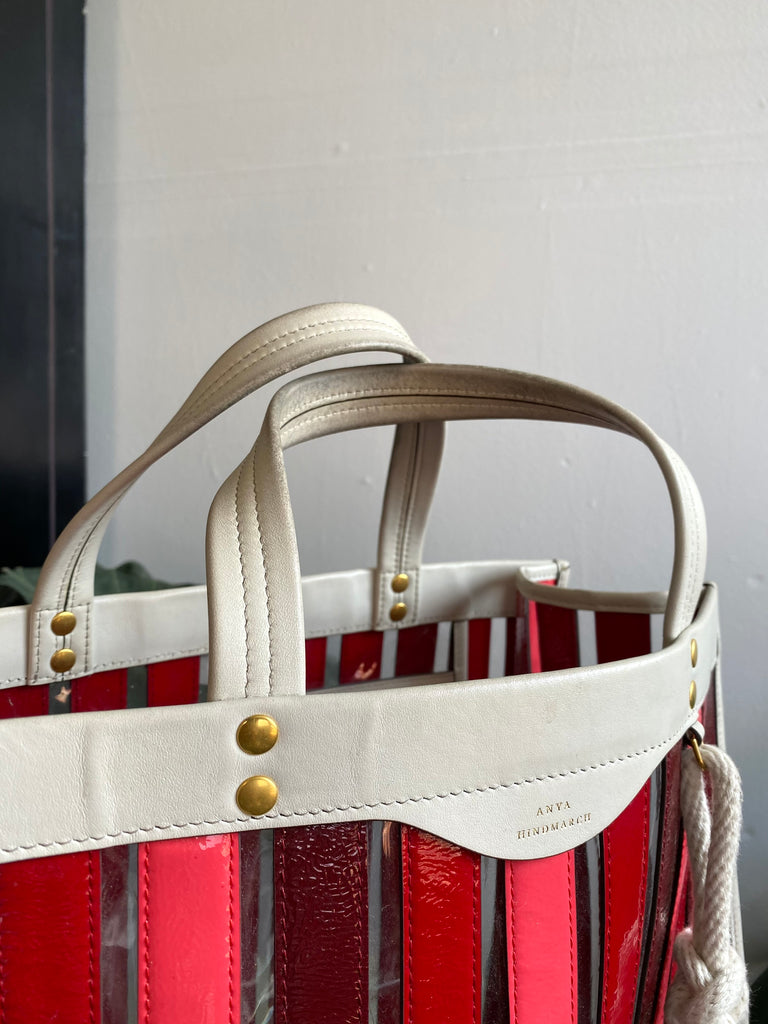 Anya Hindmarch Large Patent Leather Tote
