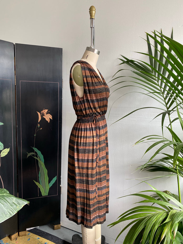 70's Missoni Silk Knit Wrap Dress