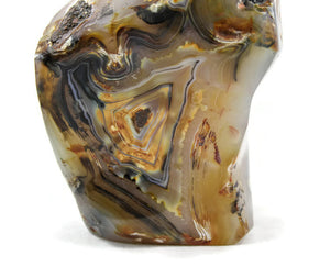 Madagascar polished agate