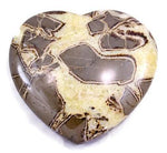 Hand Polished Septarian Heart