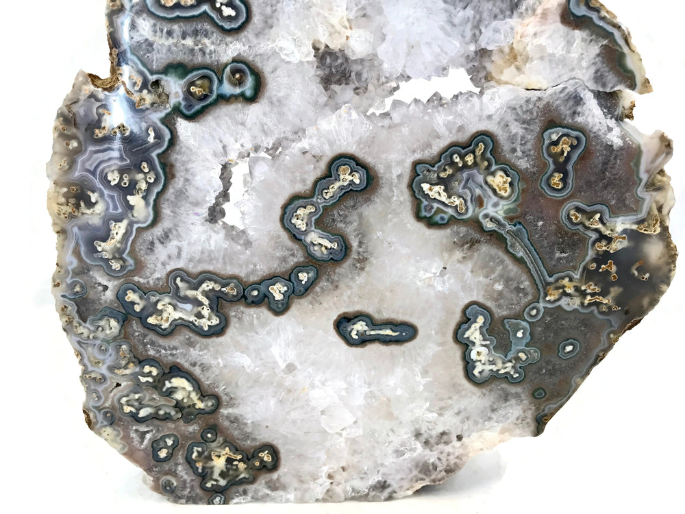 Blue Eyed Agate Slab