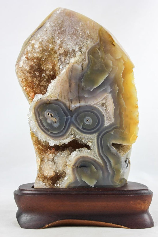 Brazilian Agate w/ Eyes