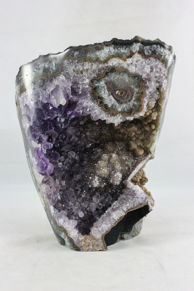 Amethyst w/ Eye & Calcite