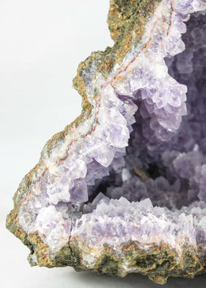 Frosted Amethyst Geode