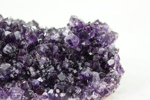 Raw amethyst crystal