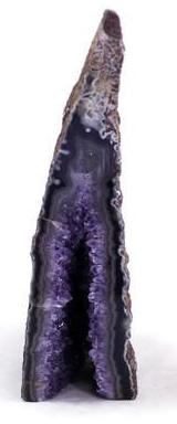 Brazilian Amethyst and Agate Geode