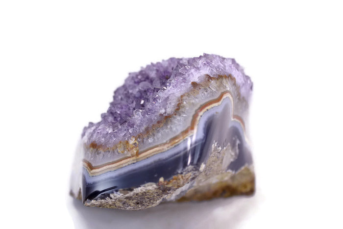 Amethyst with Large Agate Eye