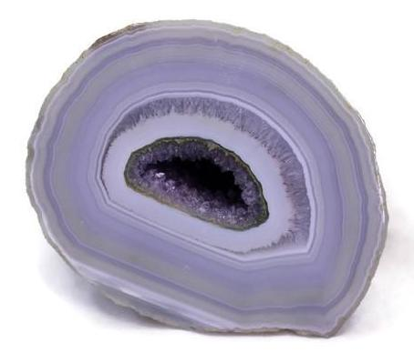 Perfect Banded Agate Geode