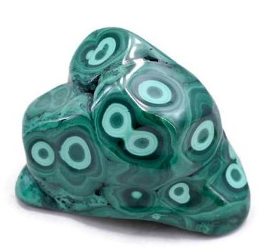 Prominent Eyed Malachite Freeform